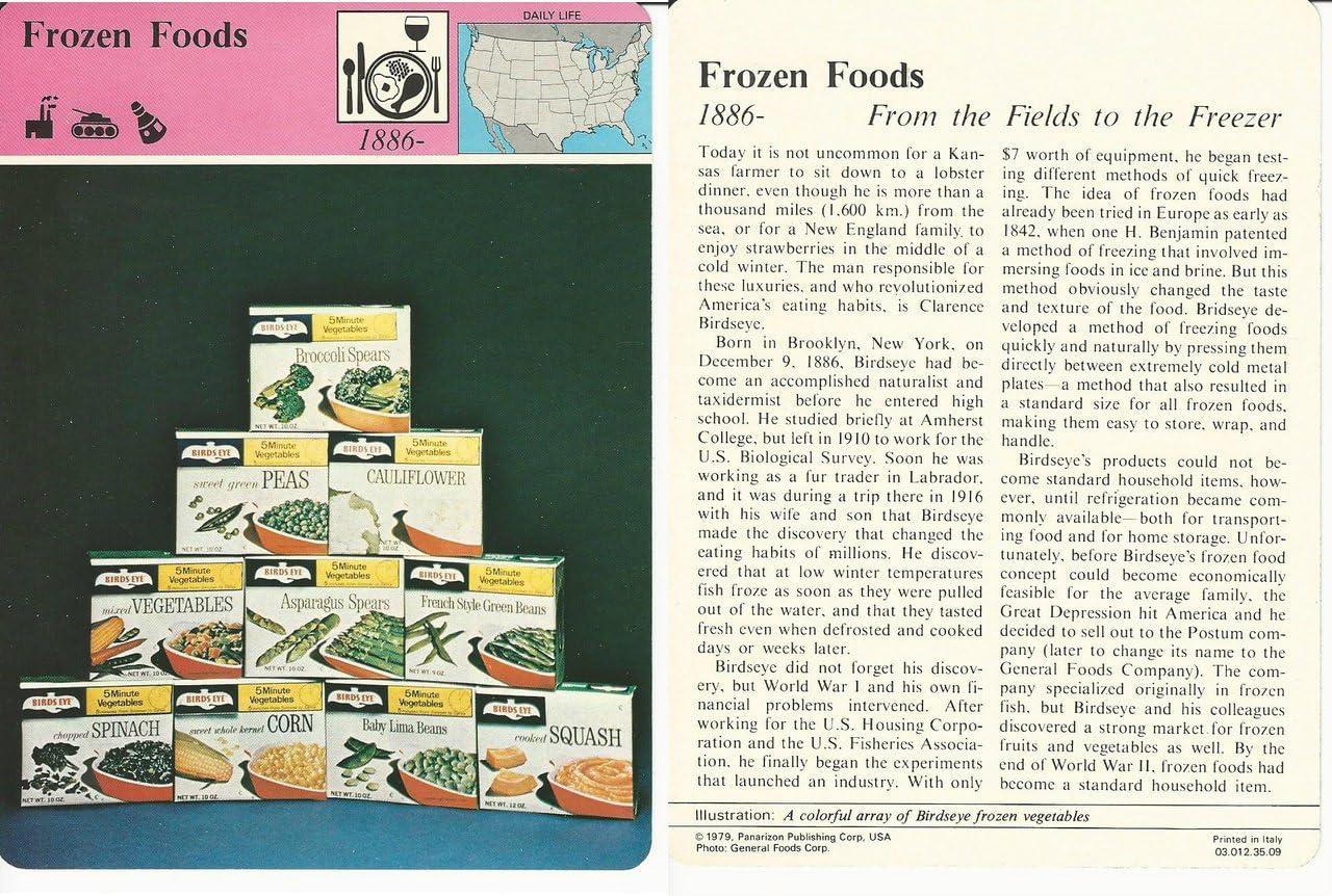 1979 Panarizon, Story Of America, 35.09 Frozen Foods, Birdseye