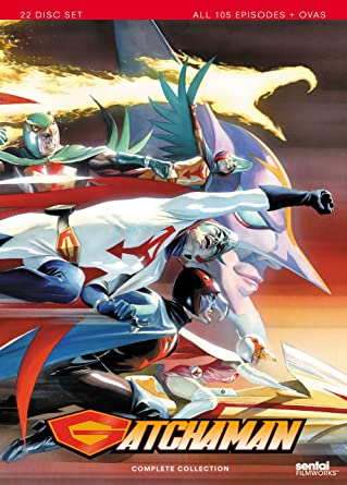 Gatchaman Complete Collection [Reino Unido] [DVD]: Amazon.es ...