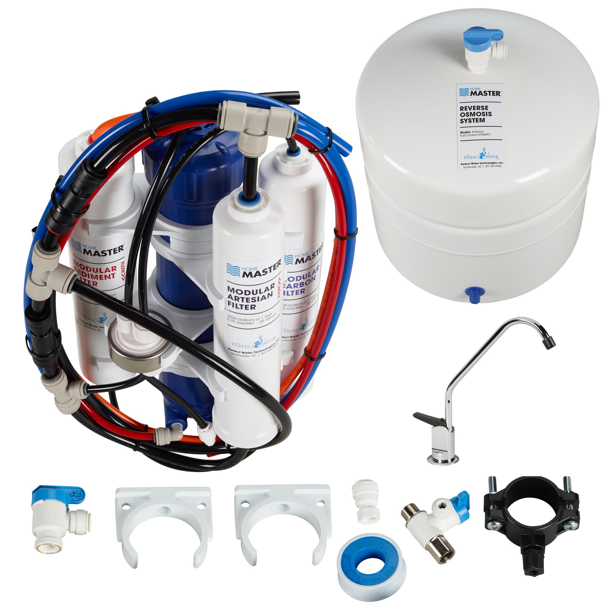 Home Master TMAFC Artesian Full Contact Undersink Reverse Osmosis Water Filter System by Home Master (Image #2)