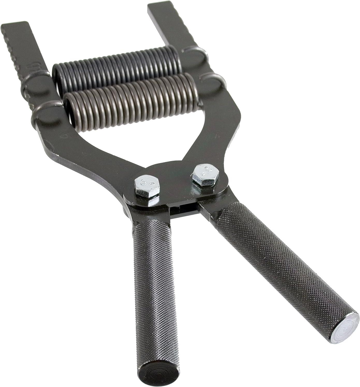 Robert Baraban Black Adjustable Hand Gripper 50 500lbs Resistance