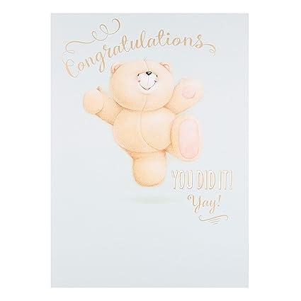 """Tarjeta de felicitaciones Hallmark Forever Friends """"Yay ..."""
