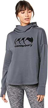 TALLA 8. Canterbury Vapodri Fleece Over The Head - Sudadera con Capucha Mujer