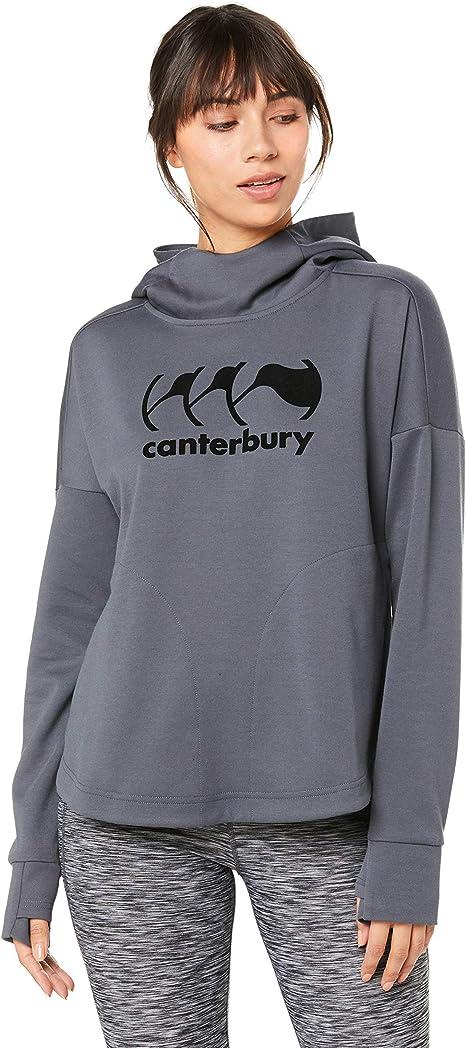 Canterbury of New Zealand Vapodri Fleece Over The Head Sudadera con Capucha, Mujer