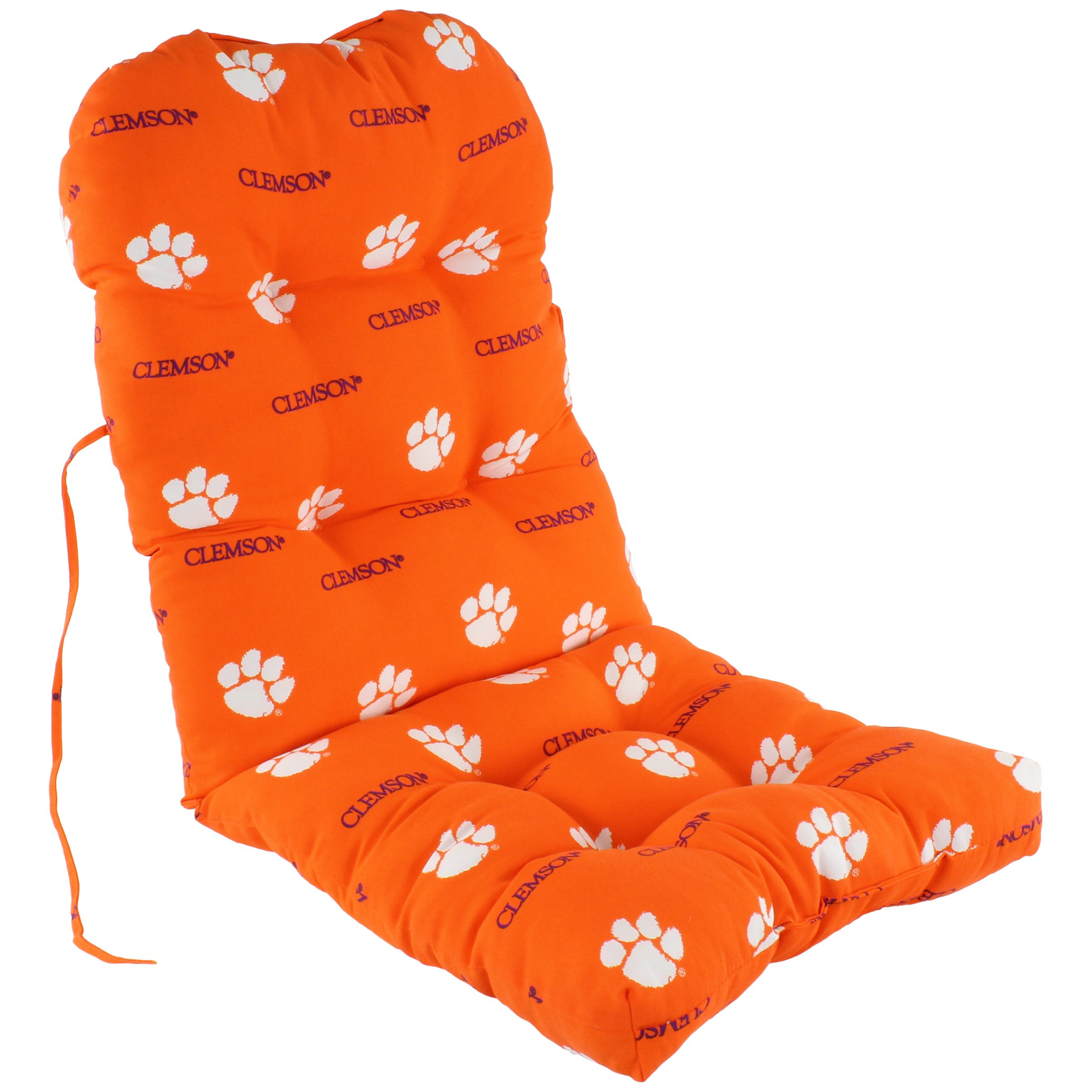 College Covers Clemson Tigers Adirondack Cushion