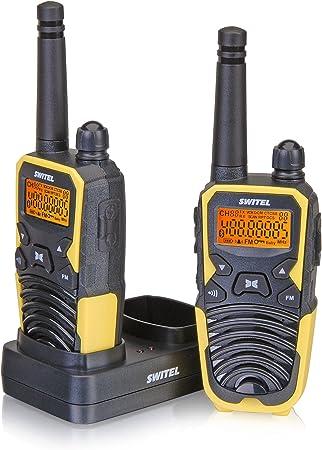 Switel Wtf5700 Walkie Talkie 2er Set Funkgeräte Bis 10 Elektronik