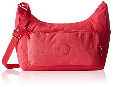 ec7980e40e2a Kipling Women s Delisse Cross-Body Bag red cherry  Amazon.co.uk ...