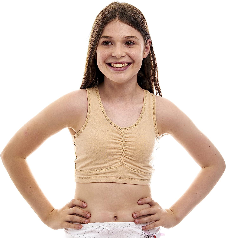 Beginners Crop Top Cotton/Lycra Training Bra for Teen