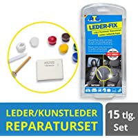ATG Leather Repair Set for Car Seats | Car Seat Full Repair Kit | Tears, Holes, Burns | Leather, Synthetic Leather, Vinyl | Professional and Affordable 15 Piece Kit
