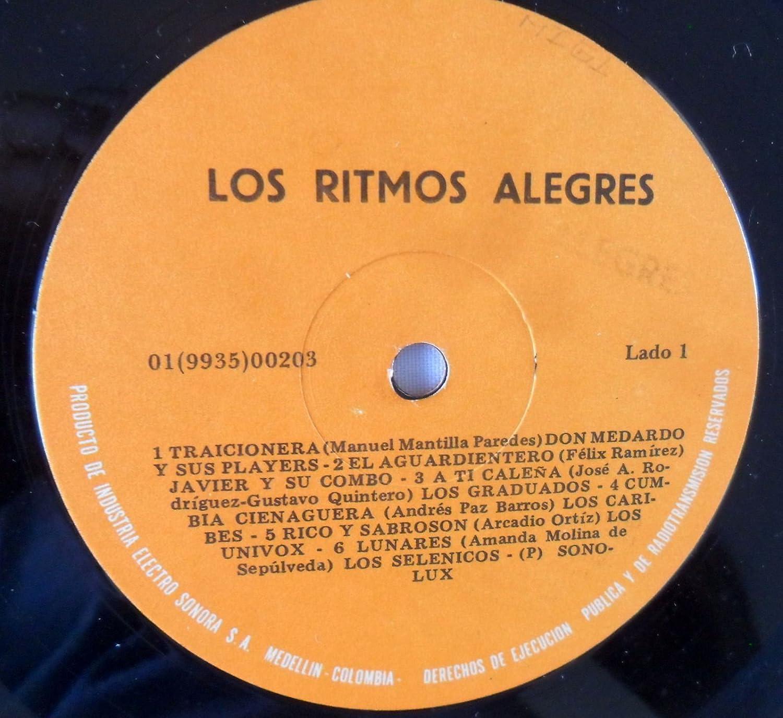 LOS RITMOS ALEGRES-VARIOS ARTISTAS MIX-PRESS SONOLUX - - LOS RITMOS ALEGRES-VARIOS ARTISTAS MIX-PRESS SONOLUX - - Amazon.com Music