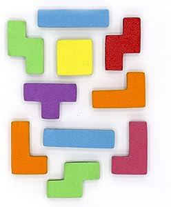 Bullseye Office Puzzle Magnet - Cool Fridge Magnet Set, Whiteboard Magnet, Office Magnets, Unique Novelty Refrigerator Magnets (14 Pack)