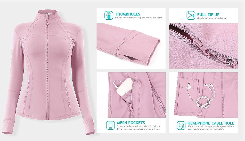 QUEENIEKE Womens Sports Define Jacket Slim Fit Cottony-Soft Handfeel 60927