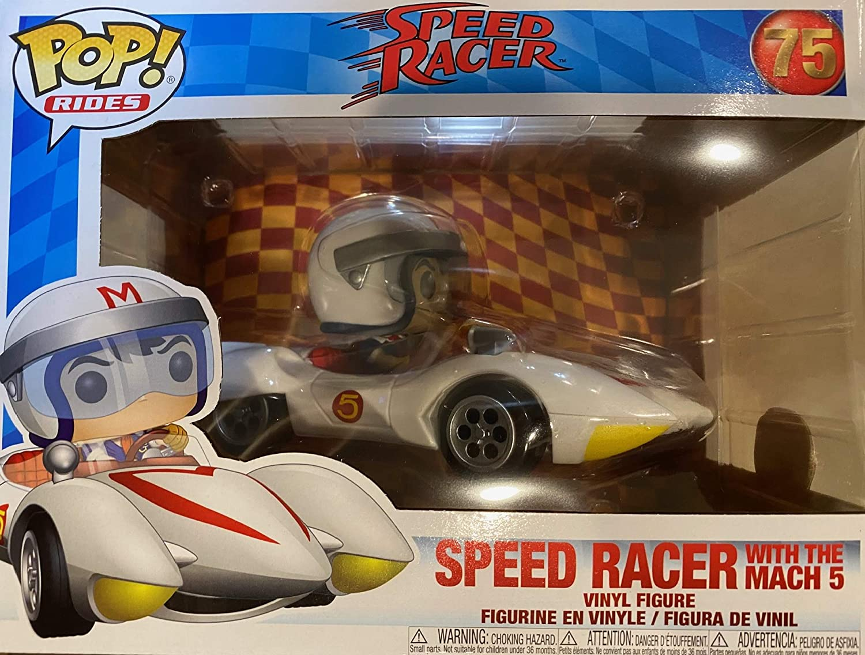 CORSE Funko Pop SPEED RACER-Speed con Figura in vinile MACH 5