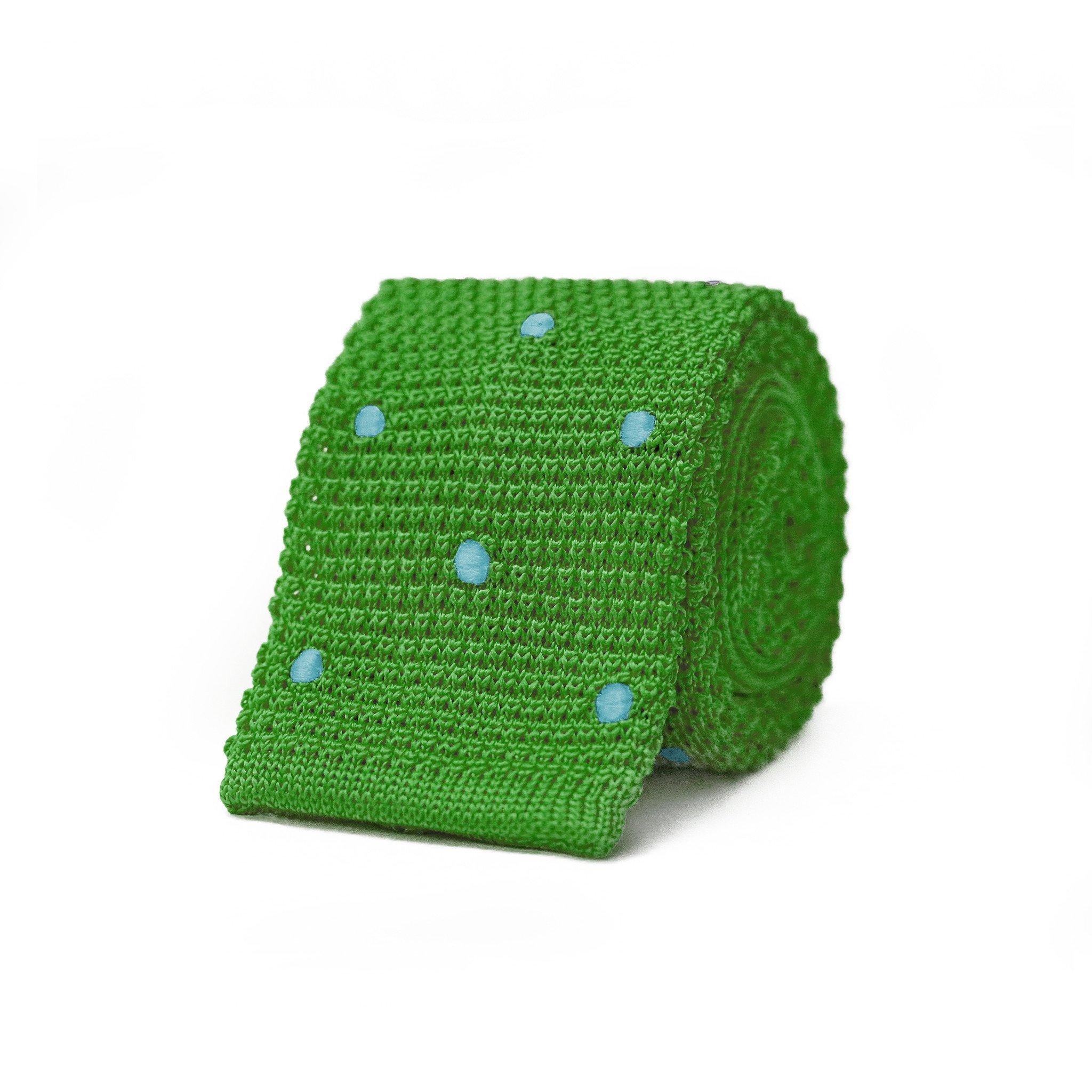 Susy Knit Tie - Green