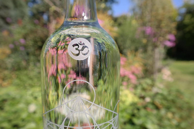 freiglas 1,0l Botella de cristal metatrons Dados ~ fabricado en negro bosque ~ metatrons Dados: Amazon.es: Hogar