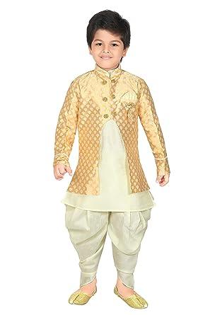 797a9a20e5d0 Amazon.com  ahhaaaa Kids Ethnic wear Waistcoat