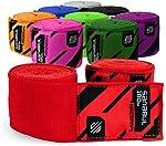 Sanabul Elastic Professional 180 inch Handwraps for Boxing Kickboxing Muay Thai