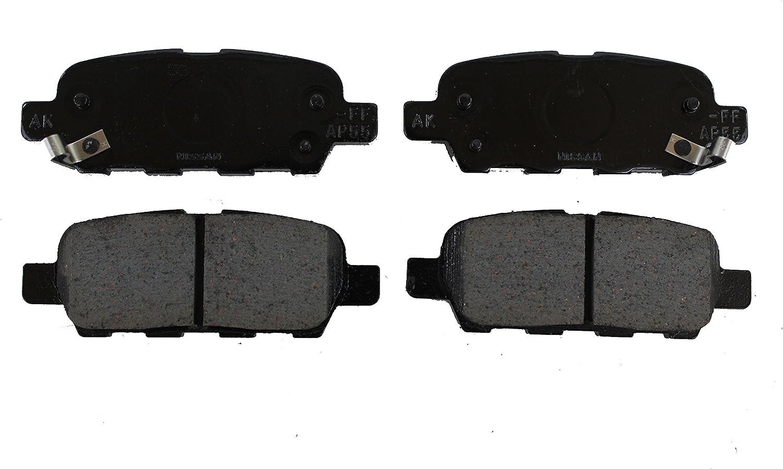 D1060-3JA0A Ceramic Front Brake Pad Set Fits for Infiniti JX 2013 QX60 2014-2017 Murano 2015-2017 Pathfinder 2013-2017 Replace# D1060-3JA0B
