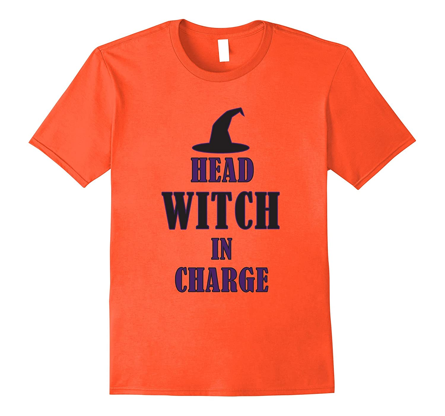 Head Witch in Charge, Mom trick or treat halloween shirt-Art