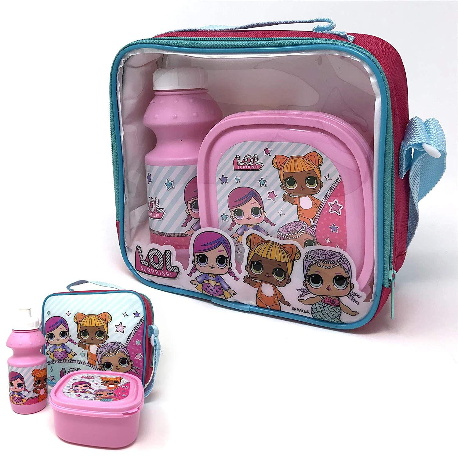 LOL Surprise Insulated School Travel Lunch Bag Lunch Box