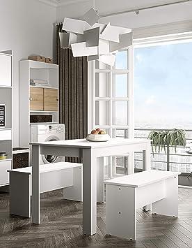 Symbiosis 2281A2121X00 – Lote de 2 Bancos y Mesa de Cocina de ...
