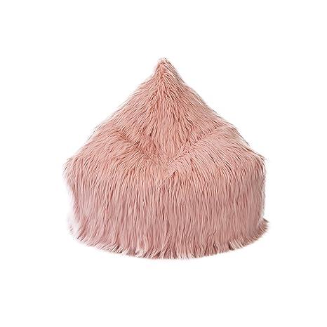 Sensational Mimish Storage Lounger Stylish Storage For Kids And Teens Himalaya Faux Fur Dusty Blush Beatyapartments Chair Design Images Beatyapartmentscom