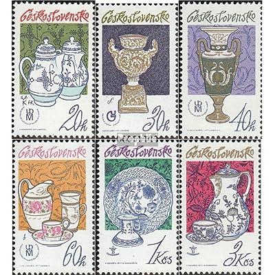Tchécoslovaquie 2381-2386 (complète.Edition.) 1977 Chine (Timbres pour les collectionneurs)
