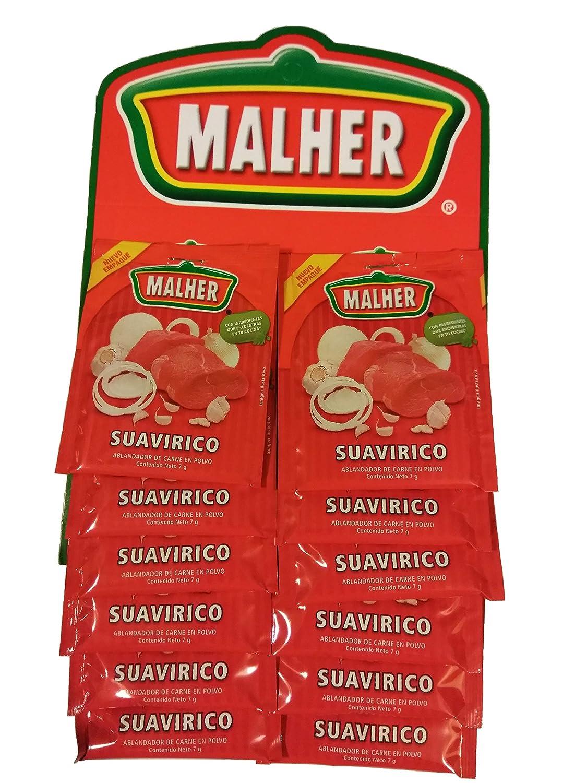 Amazon.com : MALHER Suavirico Ablandador y Sazonador 7 grs ...