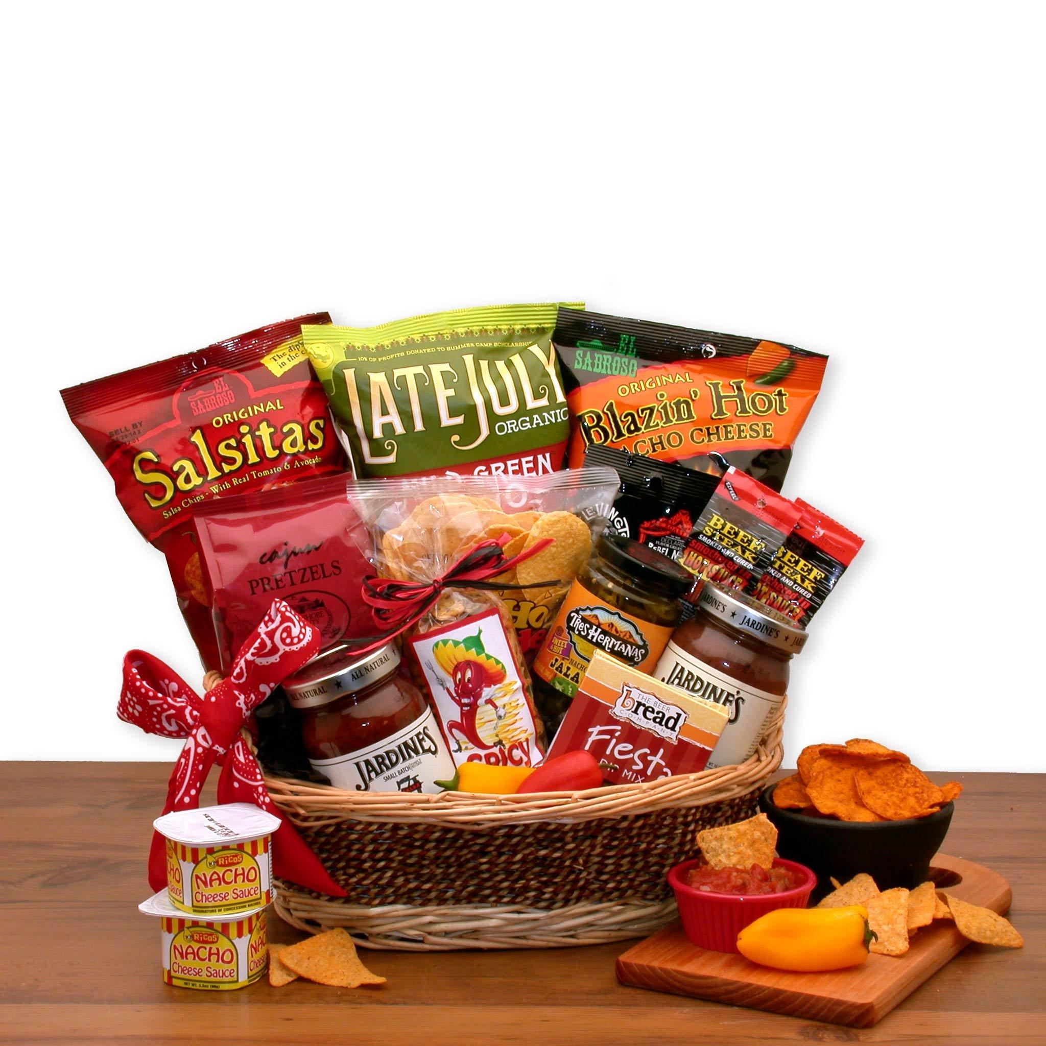 Snack Gift A Little Spice Chips & Salsa Gift Basket