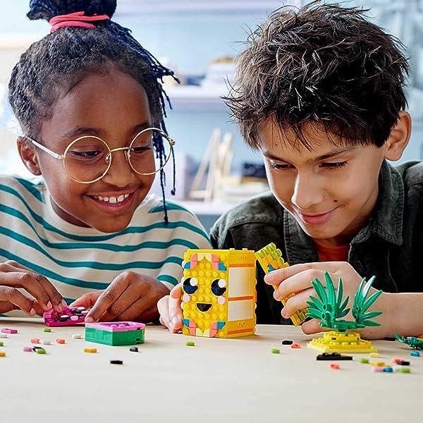 LEGO DOTS bracelets, pencil holders, photo frames and decorative craft kids for kids