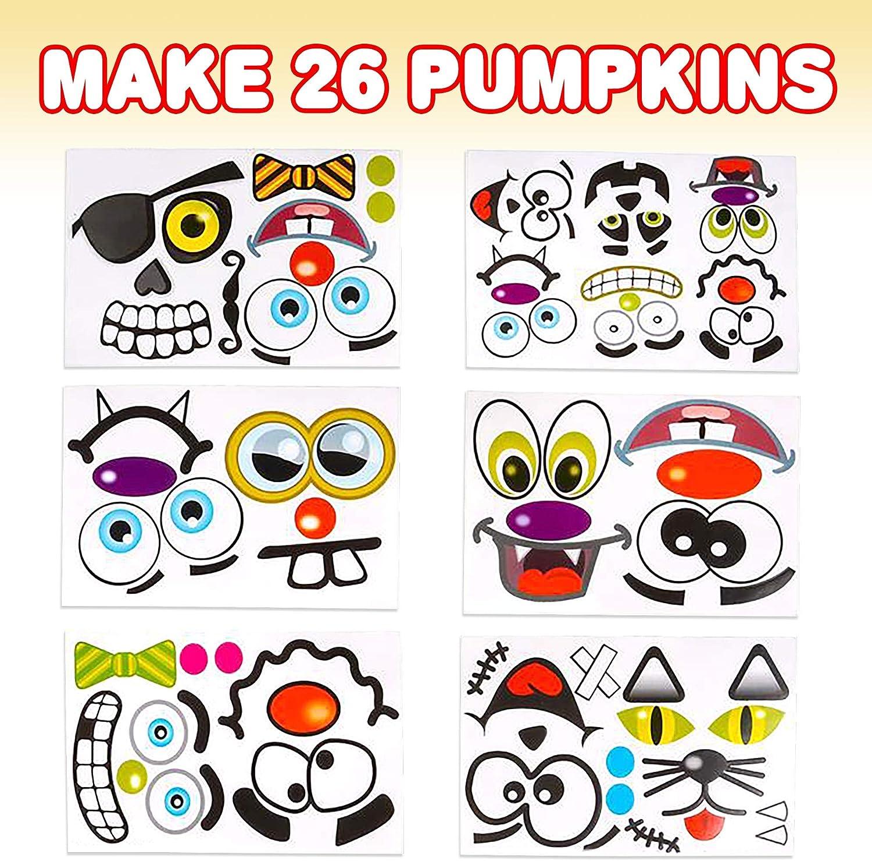 975 Vintage Halloween Decor 18 REAL STICKERS Halloween Stickers Antique Pumpkin Art Paper Miniature 1.6 x 2.6 Journal Tag Decorations