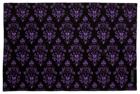 The Haunted Mansion Wallpaper Placemat - Maroon | Disney Parks Product | Kitchen Essentials | Disney Store