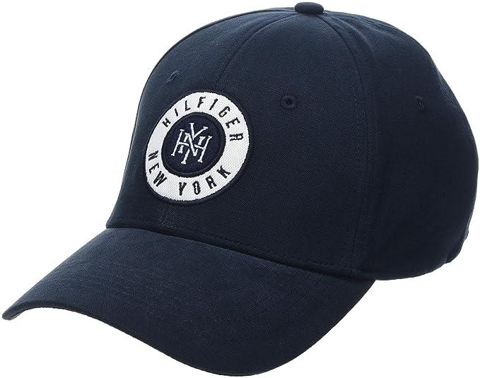 Tommy Hilfiger Hilfiger Badge Cap, Gorra de béisbol para Hombre, Azul (Tommy Navy