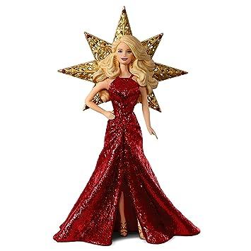 Barbie Christmas Ornament.Hallmark Keepsake 2017 Holiday Barbie Christmas Ornament