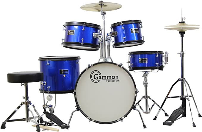 this junior drum set is the perfect way for your young drummer