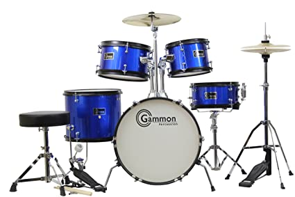 Drums For Sale >> Amazon Com Gammon 5 Piece Junior Starter Drum Kit With Cymbals