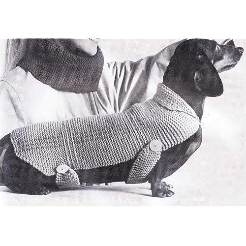 Dog Coat Knitting Patterns Amazon