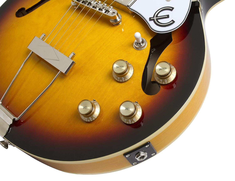 Epiphone Casino Coupe - Guitarra eléctrica, color cherry: Amazon.es: Instrumentos musicales