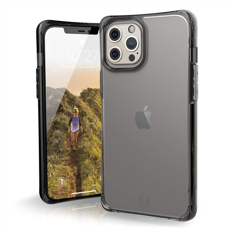 U By Uag U Mouve Schutzhülle Apple Iphone 12 Pro Max 6 7 Zoll Hülle Transparentes Case Wireless Charging Kompatibles Cover Sturzfest Ultra Slim Bumper Ice Transparent Elektronik