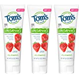 Tom's of Maine Anticavity Fluoride Children's Toothpaste, Kids Toothpaste, Natural Toothpaste, Silly Strawberry, 5.1…