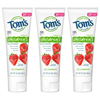 Tom's of Maine Anticavity Fluoride Children's Toothpaste, Kids Toothpaste, Natural...