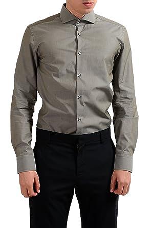 ba1b03a44 Image Unavailable. Image not available for. Color: Hugo Boss Jason Men's  Slim Fit Long Sleeve Dress Shirt ...