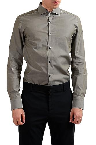 Amazon.com: hugo boss Jason para hombre Slim Fit camisa de ...