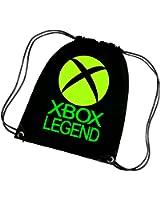 XBOX LEGEND CORDED SHOULDER BAG,SWIMMING BAG,PE BAG,GYMSAC,DRAWSTRING BAG, WATER RESISTANT