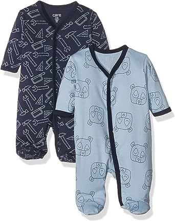 Care Pijama Unisex bebé, Pack de 2
