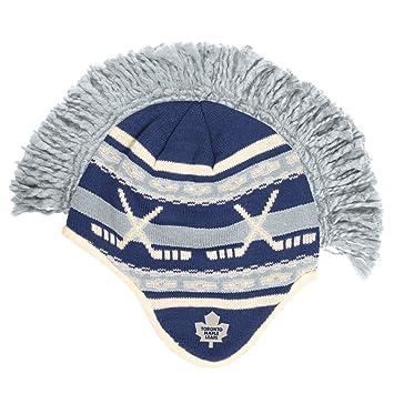 Toronto Maple Leafs Reebok NHL Spiked Mohawk Knit Hat, Skullies ...