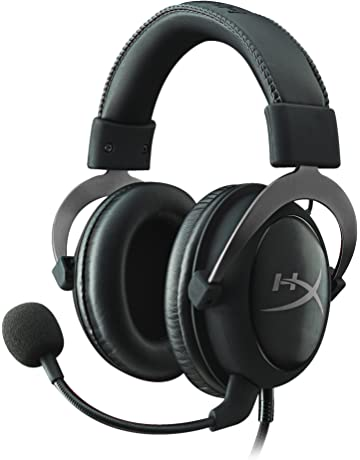 HyperX Cloud II - Auriculares gaming de diadema cerrados con micrófono (para PC/PS4