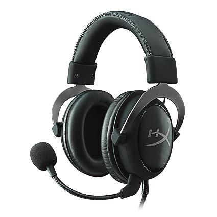 HyperX Cloud II Gaming Headset - 7.1 Surround Sound - Memory Foam Ear Pads  - Durable