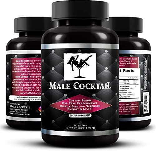 Male Cocktail Performance Enhancing Pills Increase Stamina