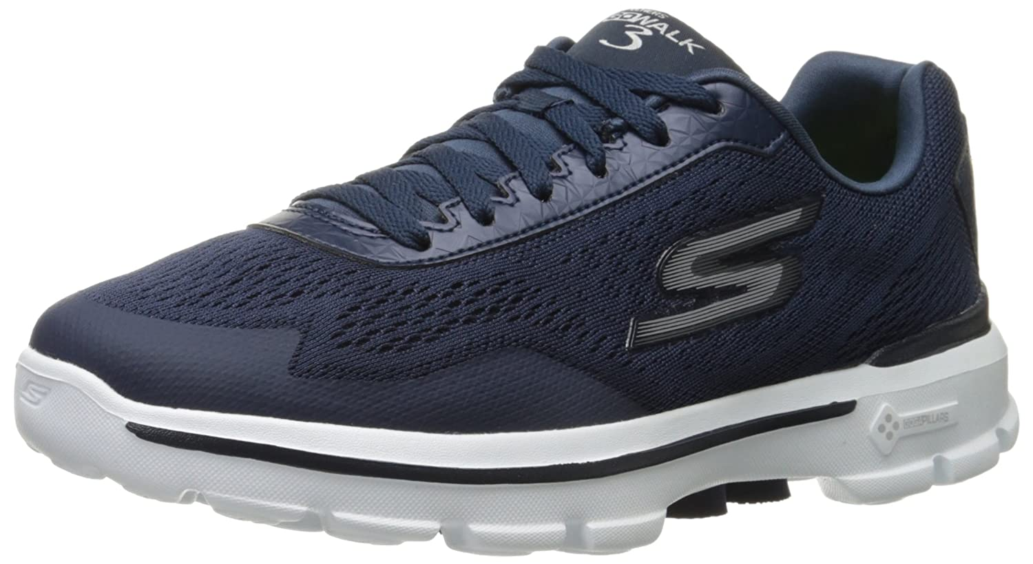 Skechers Performance Men's Go Walk 3 Reaction Walking Shoe 54050