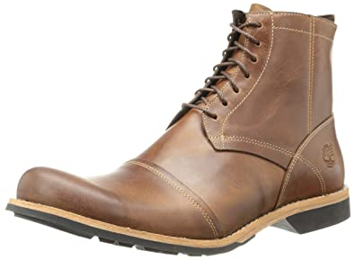 Timberland Men's City 6 inch Side Zip Boot,Burnished Tan,7.5